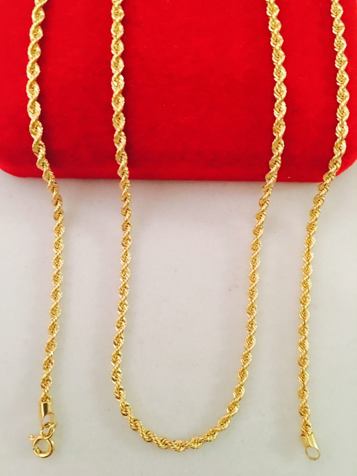 03c85d59d514 14kt Yellow Gold Solid Rope Chain 2.0 mm Width 8.0 Inch Long (2.9 Grams) by  RG D