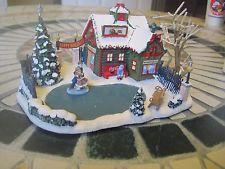 "Coca Cola Holiday Village ""Happy Holidays Skating Pond"" by Hawthorne Village"