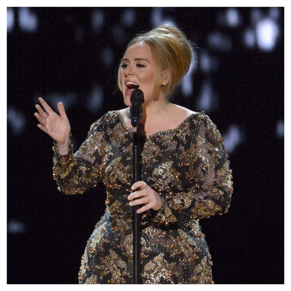 "Congratulations! Adele's album ""25"" now topped five million copies sold in the United States"