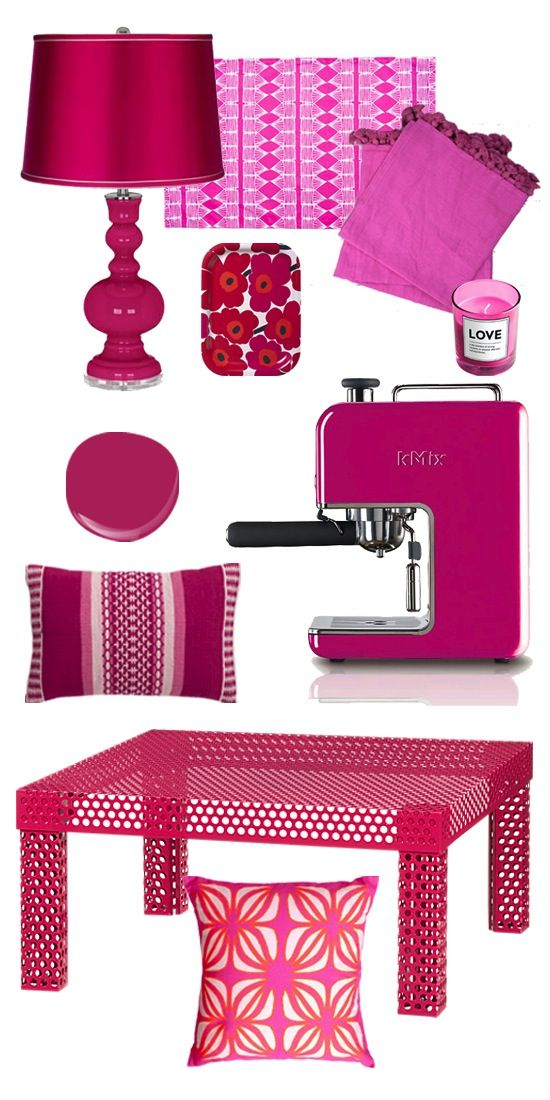 Not That You Need Another Reason to Adore Jonathan Adler But Here's One Anyway. Love the Berry color.