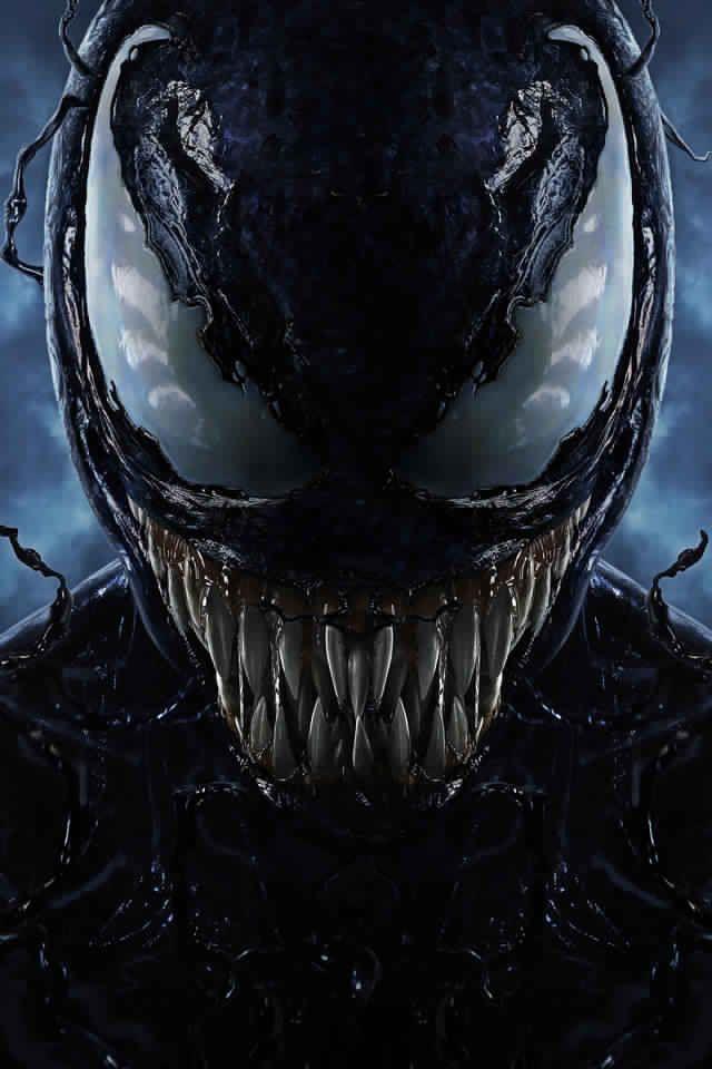 best wallpaper for iphone x venom movie 2018 10k key art