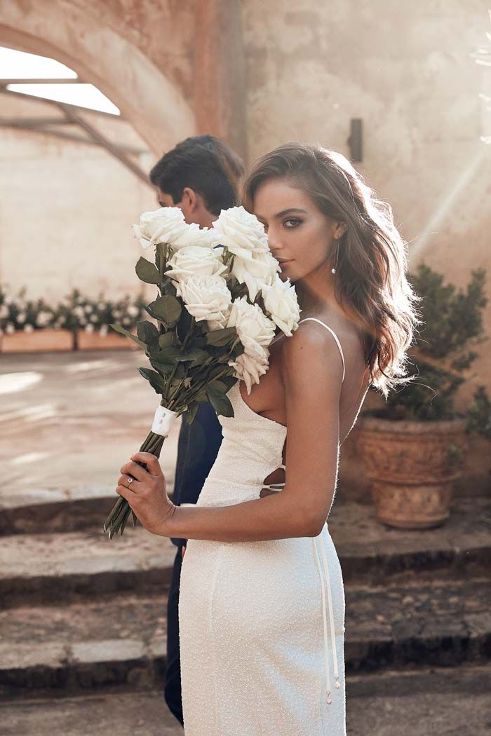 Eternal Beauty  Grace Loves Lace 2018 Collection is part of White roses wedding - A free spirit and adventure has inspired the new 2018 Grace Loves Lace collection, we can't stop swooning over the effortless silhouettes and carefree gowns