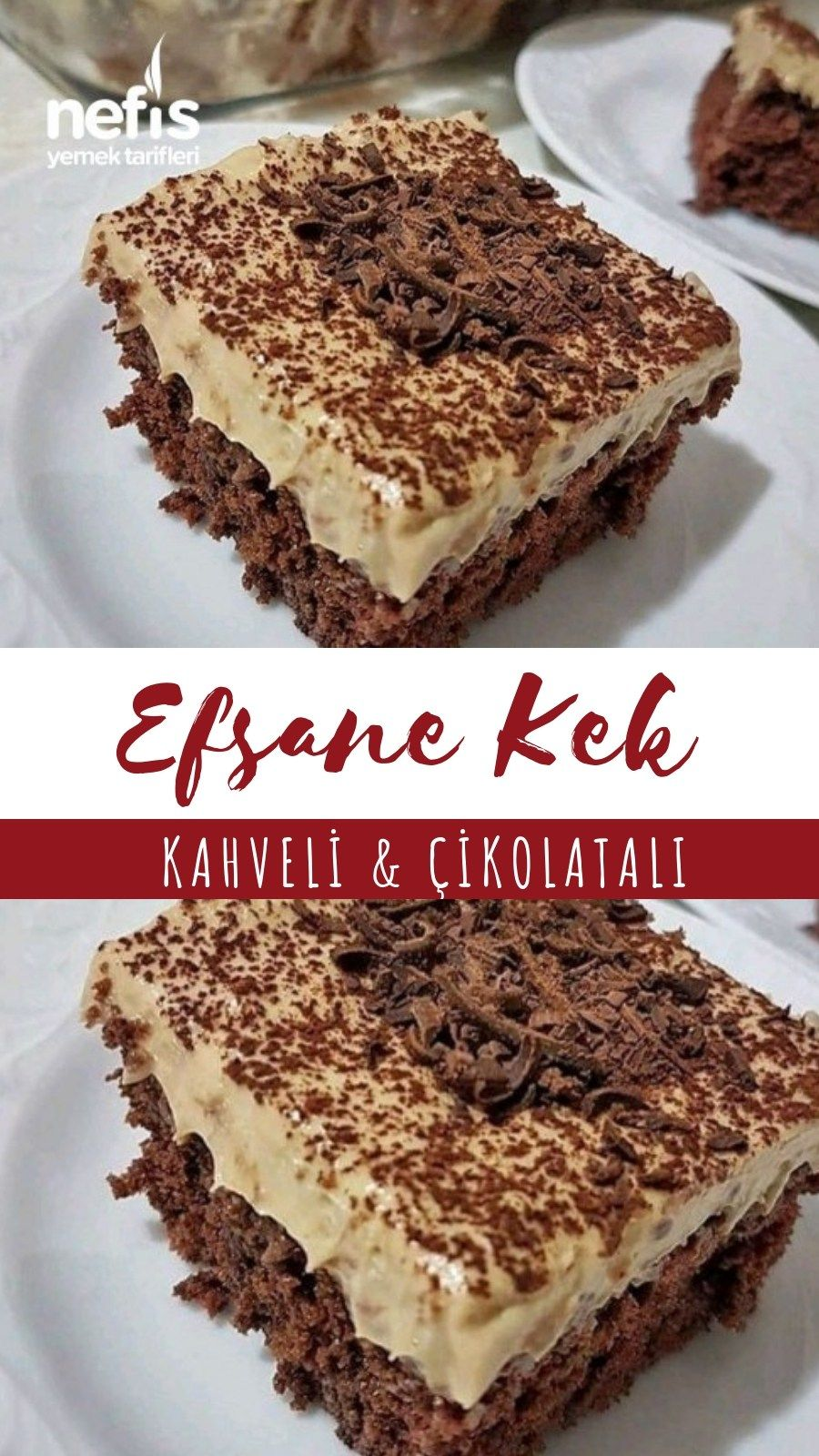 Kahveli Çikolatalı Kek – Nefis Yemek Tarifleri – #5661780