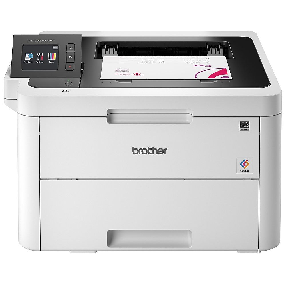 Brother Compact Wireless Color Laser Printer, HLL3270CDW