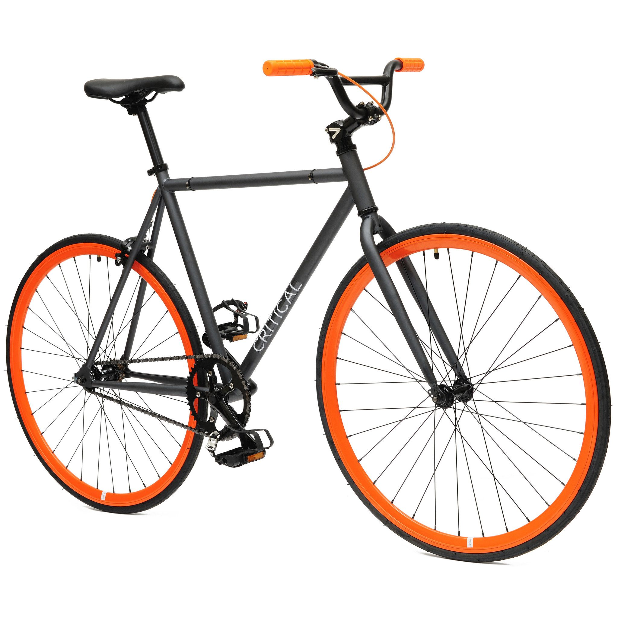 Fixed Gear Single Speed Bike With Bmx Handlebars Bicycles