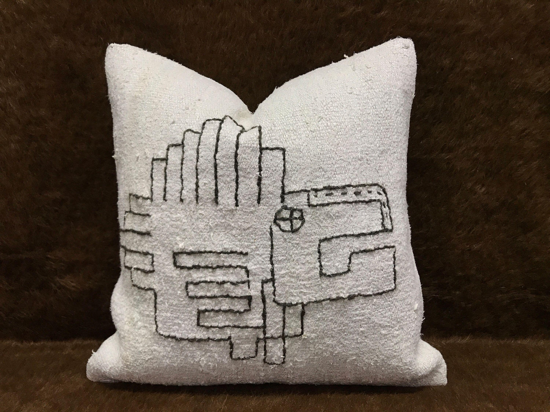White Kilim Pillow Cushion Cover Pillow Cover Ethnic Pillow Turkish Pillow Kilim Unique Pillow Kilim Pillow 20x20inch 50x50cm