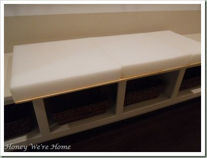 best 25 bench cushions ideas on pinterest seat cushion foam storage bench seat ikea and diy. Black Bedroom Furniture Sets. Home Design Ideas