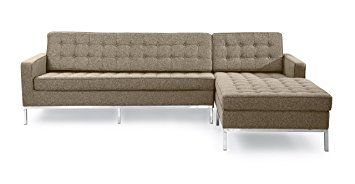 Kardiel Florence Knoll Style Right Sectional Sofa, Oatmeal ... Discounts up to 30% on featured home & garden as well as furniture items.