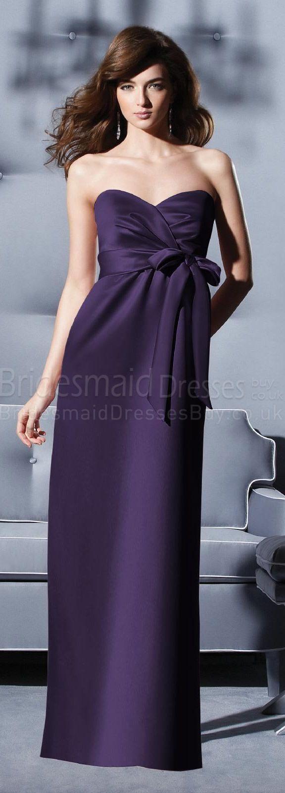 Purple bridesmaid dresslong bridesmaid dresses fashion