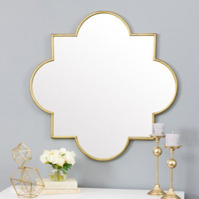 Aspire Home Accents Amira Gold Moroccan Wall Mirror 36w X 36h In 5476 Moroccan Wallpaper