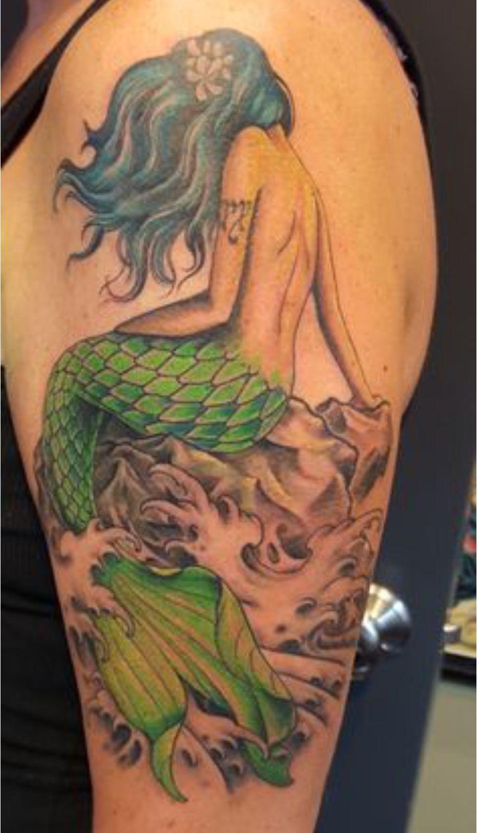 25++ Astonishing Small mermaid tattoo designs image ideas