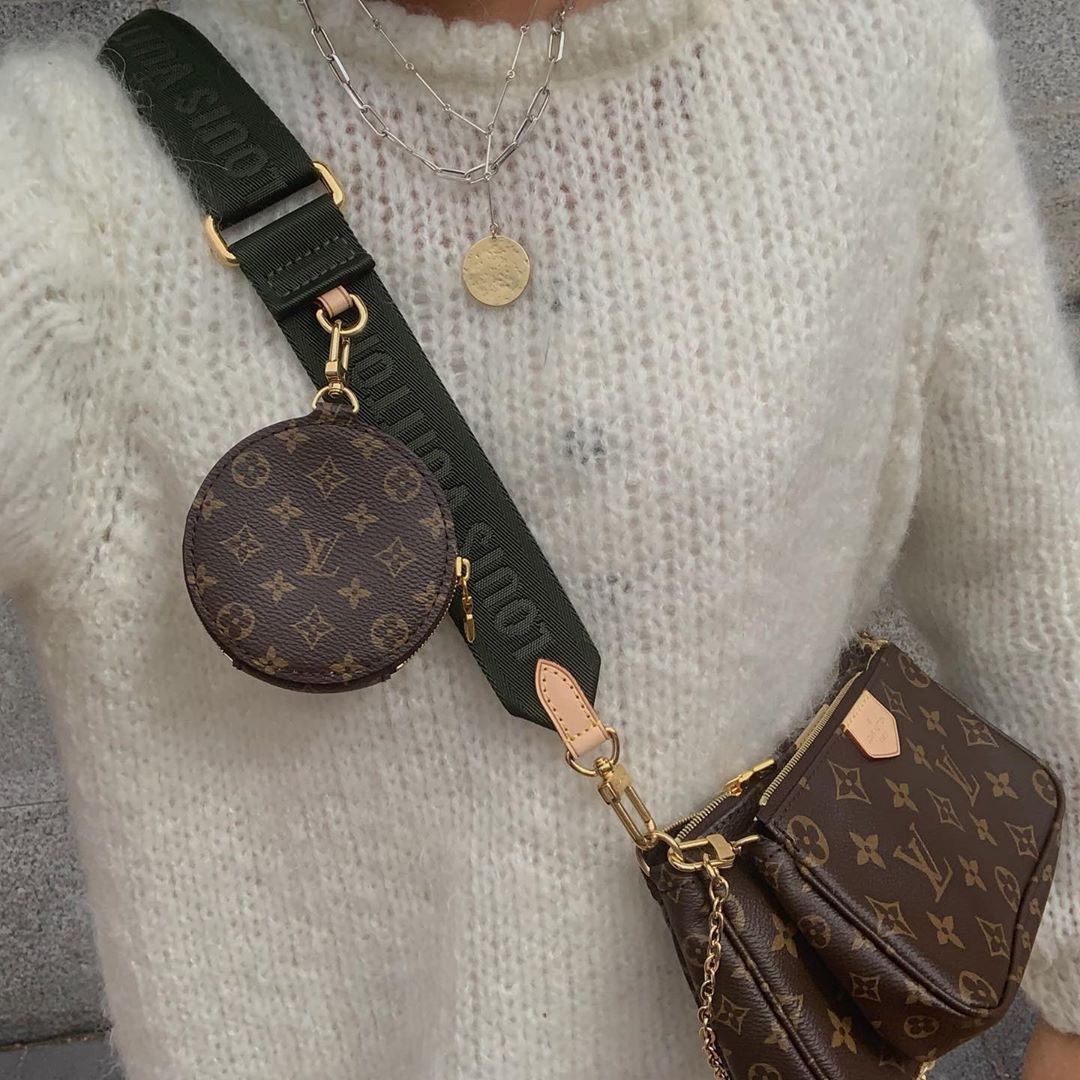 El Bolso Multi Pochette De Louis Vuitton Está Arrasando Tanto Que Tiene Lista De Espera Louis Vuitton Bolso Estilo Deportivo