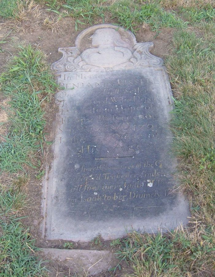 Benjamin Bissell (1720 - 1790) - Find A Grave Photos