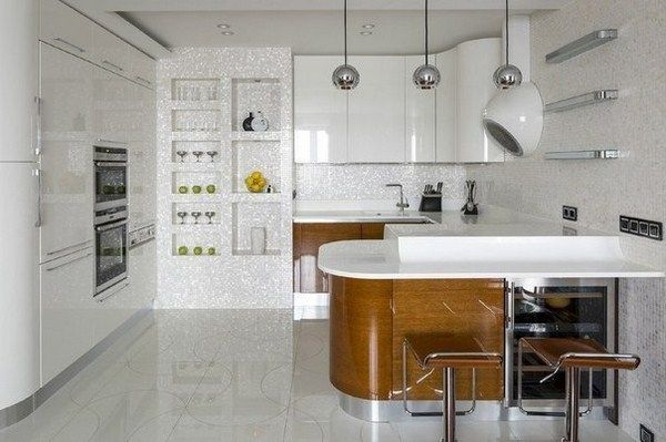 Studio apartment in Moscow (2)