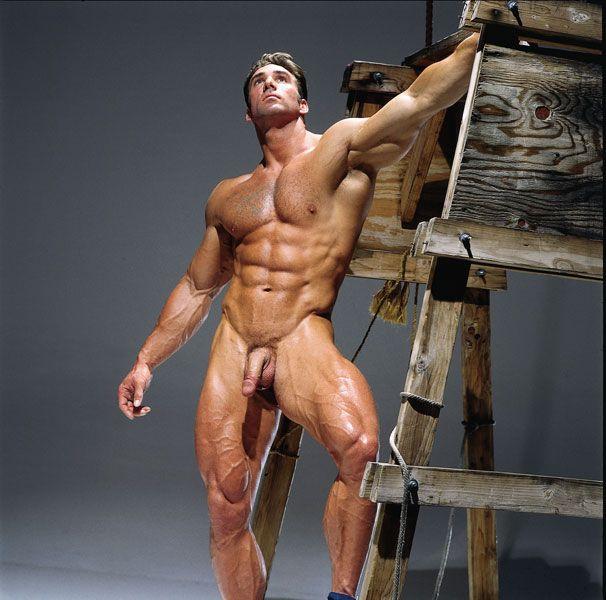 afeitado gay músculo
