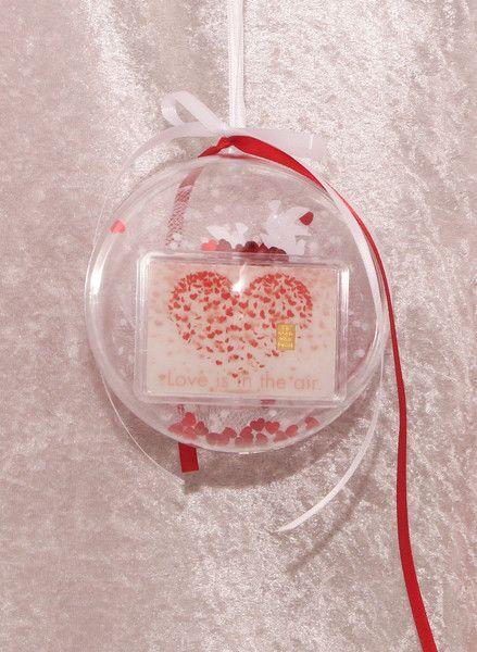 1g Goldbarren Geschenk Hochzeit Herz Liebesschloss