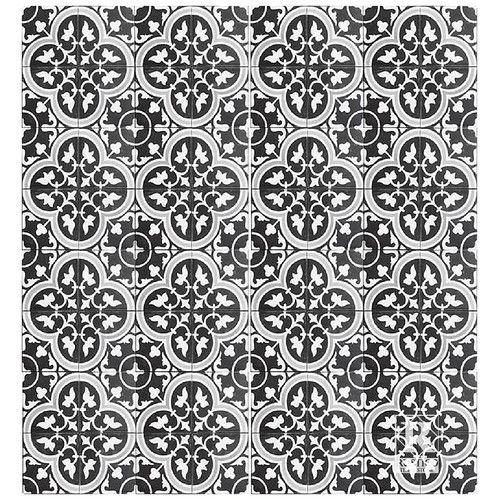 "Found it at Wayfair - MeaLu 8"" x 8"" Roseton A Cement Tile"