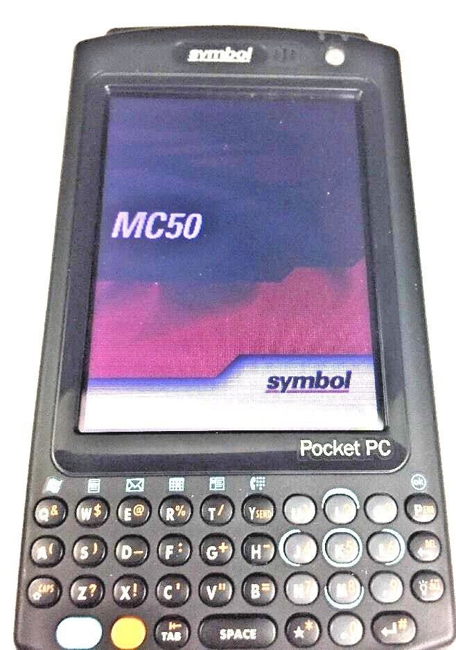 Motorola Symbol Barcode Scanner Mc5040 Handheld Pocket Pc With Case