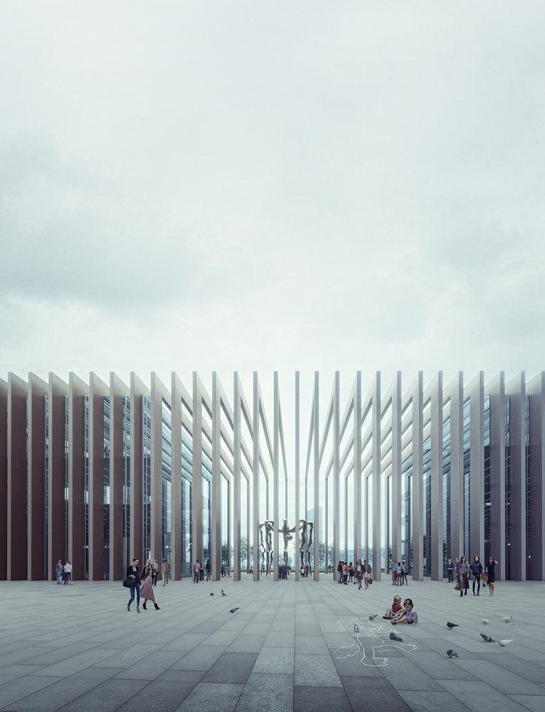 Hines edifici e3 east milano 2013 v i s u a l i s a t for Raumgestaltung innenarchitektur studium