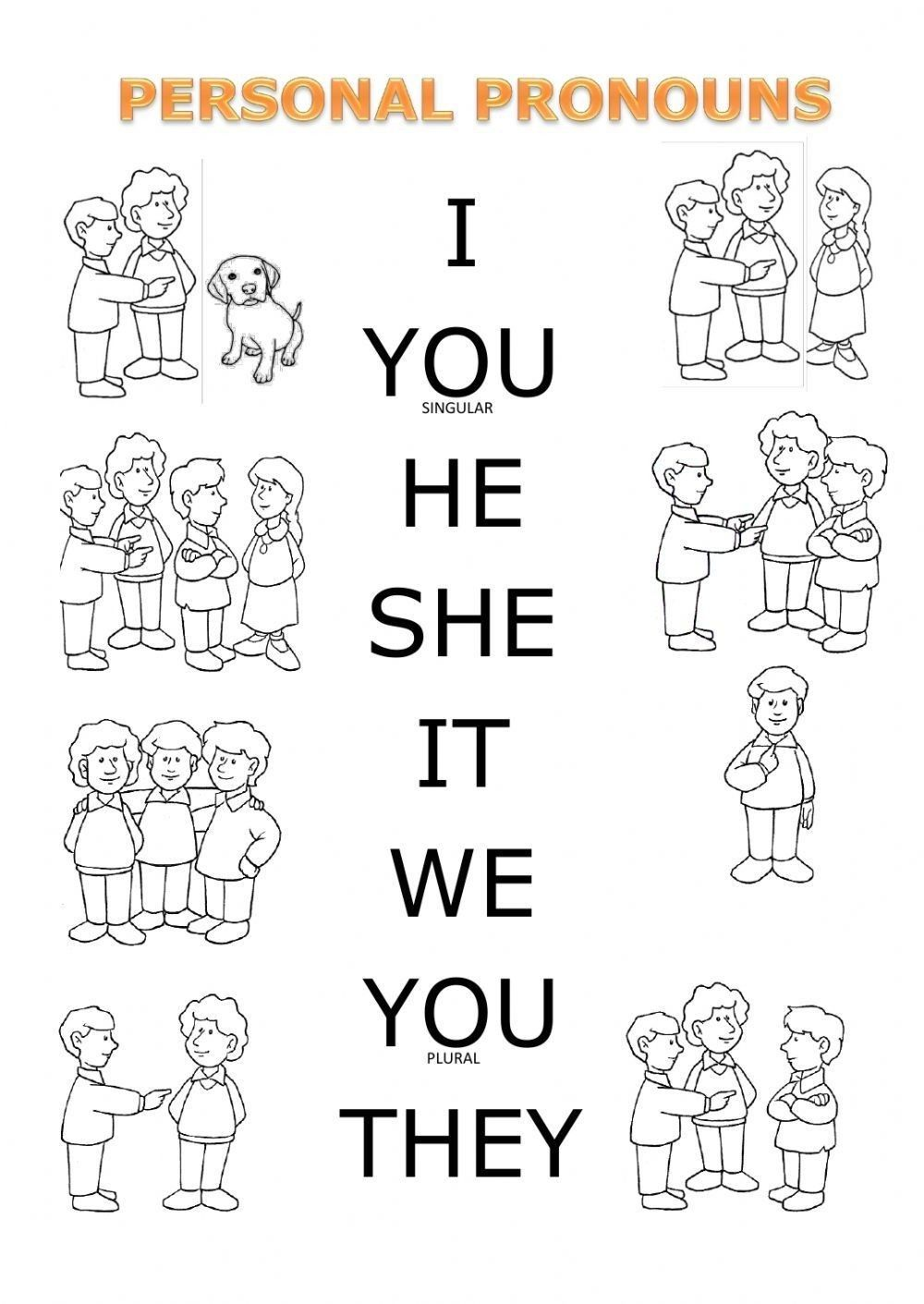 Pin By Daaria On Sheets Personal Pronouns English Worksheets For Kids Personal Pronouns Worksheets [ 1411 x 1000 Pixel ]