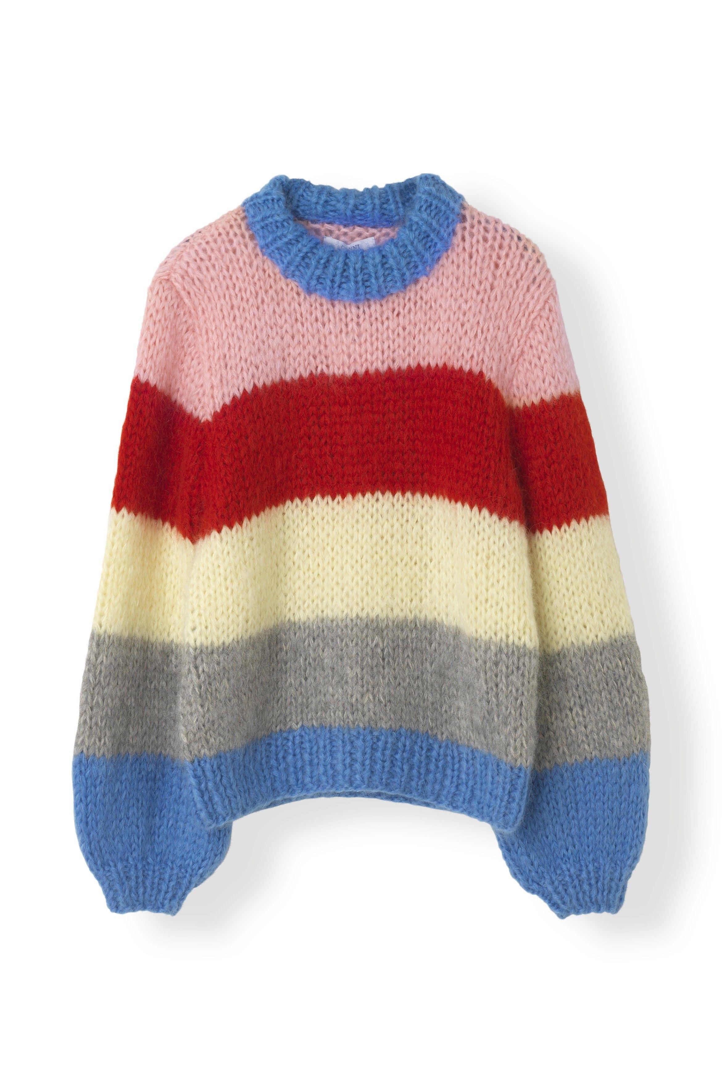 9e3ac96ba Ganni The Julliard Mohair Knit, K1067 Block Colour | strik ...