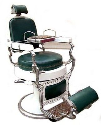 Restoring A Vintage 1920s Koken Barbers Chair
