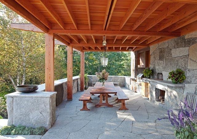 25 Brilliant Ideas For Outdoor Kitchen Designs Build & Remodel Gorgeous Patio Kitchens Design Design Ideas