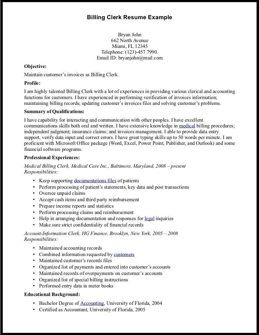 Medical Billing Manager Resume Sample Ideas Resume Medical Assistant Resume Resume Examples