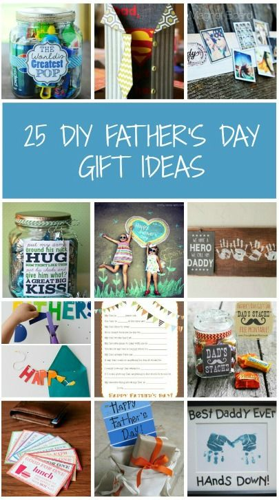 25 DIY FathersDay Gift And Craft Ideas From Practical Parenting