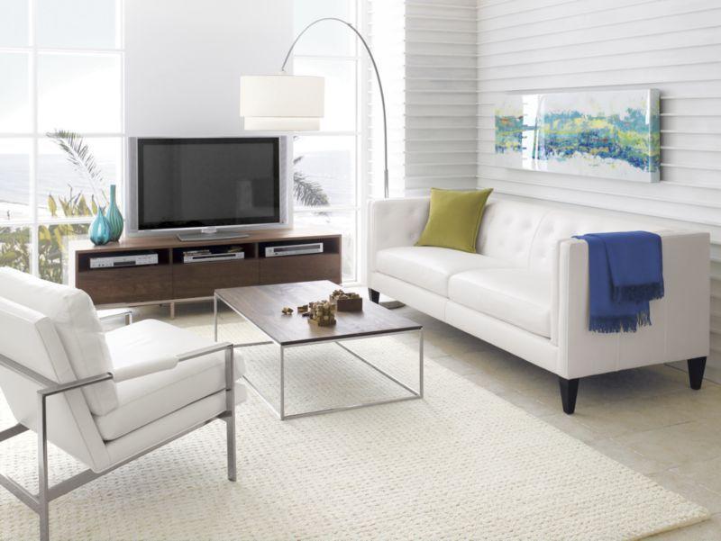 Media Console Furniture Floor Lamp