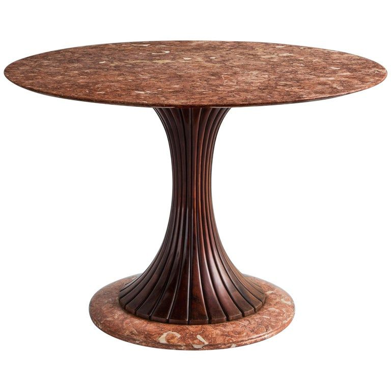 1stdibs Dining Room Table Dining Table Osvaldo Borsani Round