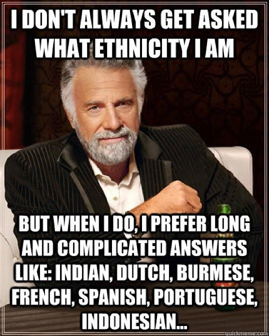 I REALLY hate when anything requests only ONE option for my ethnicity. Do you not understand I am a rare breed of MUT?!?! #itscomplicated  #imanalien  by theathleticdiva