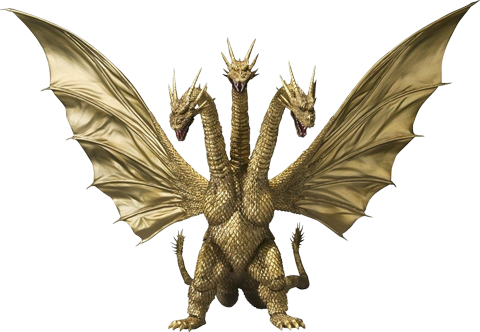 Monsters General King Ghidorah Godzilla Collectible Figu Canavarlar
