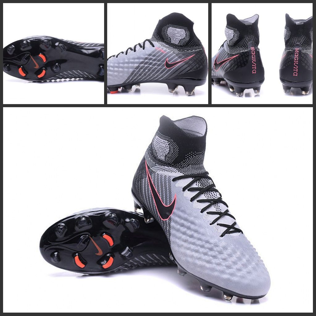 Alte Calcio II Magista Grigio Nero Scarpe Obra FG Nike