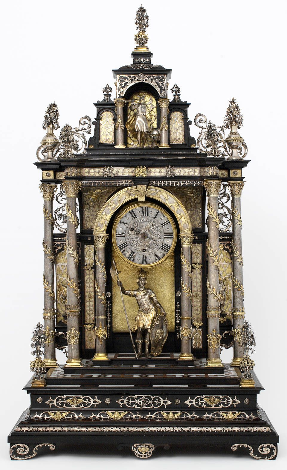 Table Clock Made By Elias Kreitmayer And Matthias Walbaum 1880 1900 Google Search In 2020
