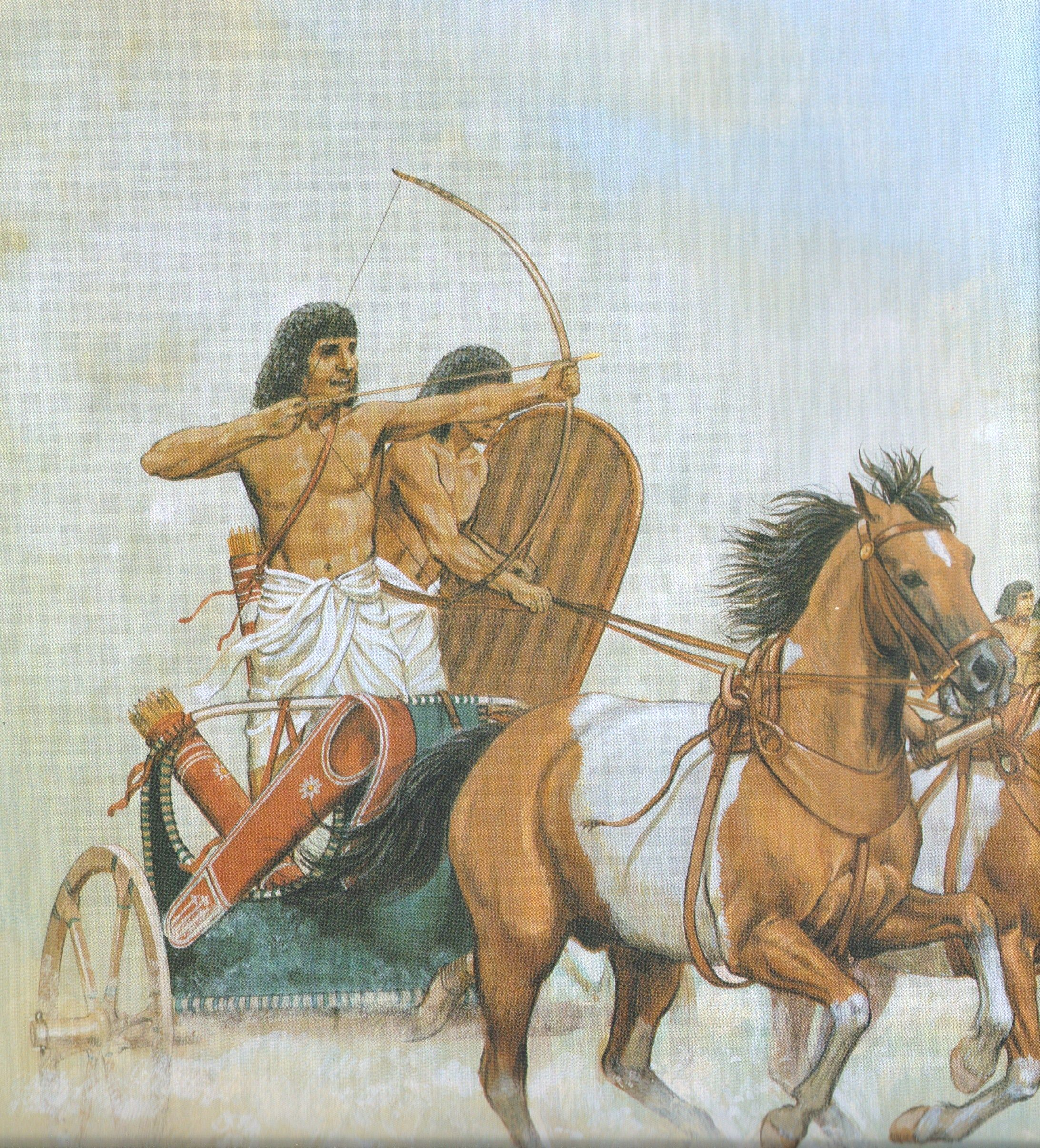 egypt warfare Egypt then began its slow decline, threatened by the assyrians, an aggressive mounted force using crude but successful tactics and weaponry the availability of quality horses also determined the use of chariots, and as egypt, the main supplier of horses, declined so did the use of the chariot.