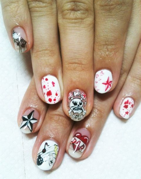 Cool Nail Painting Ideas For Kids Nails Pinterest