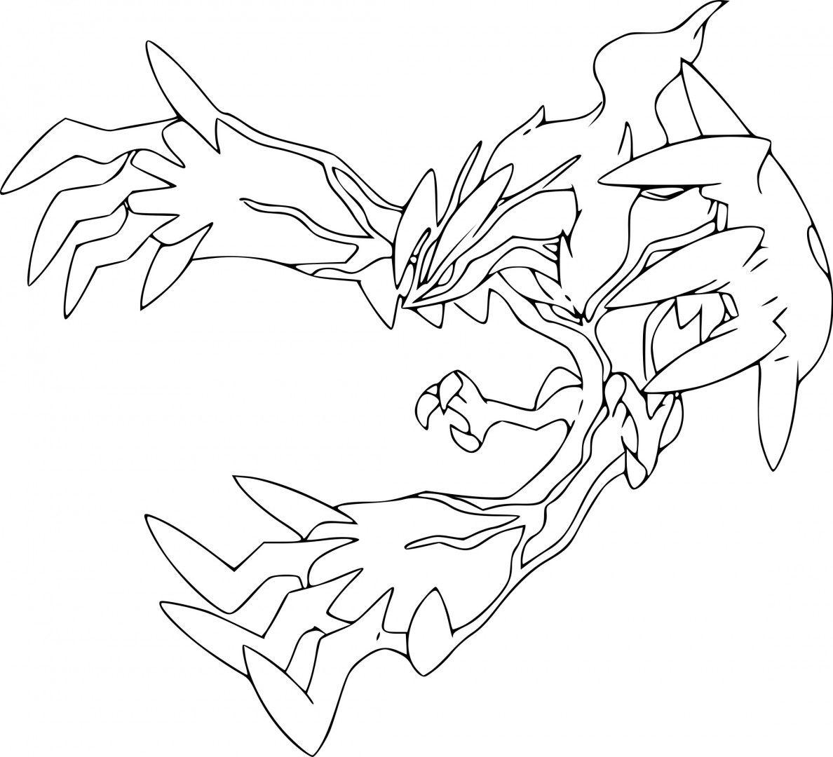 Pokemon Yveltal Coloring Pages Arte De Zorro Dibujos Imagenes