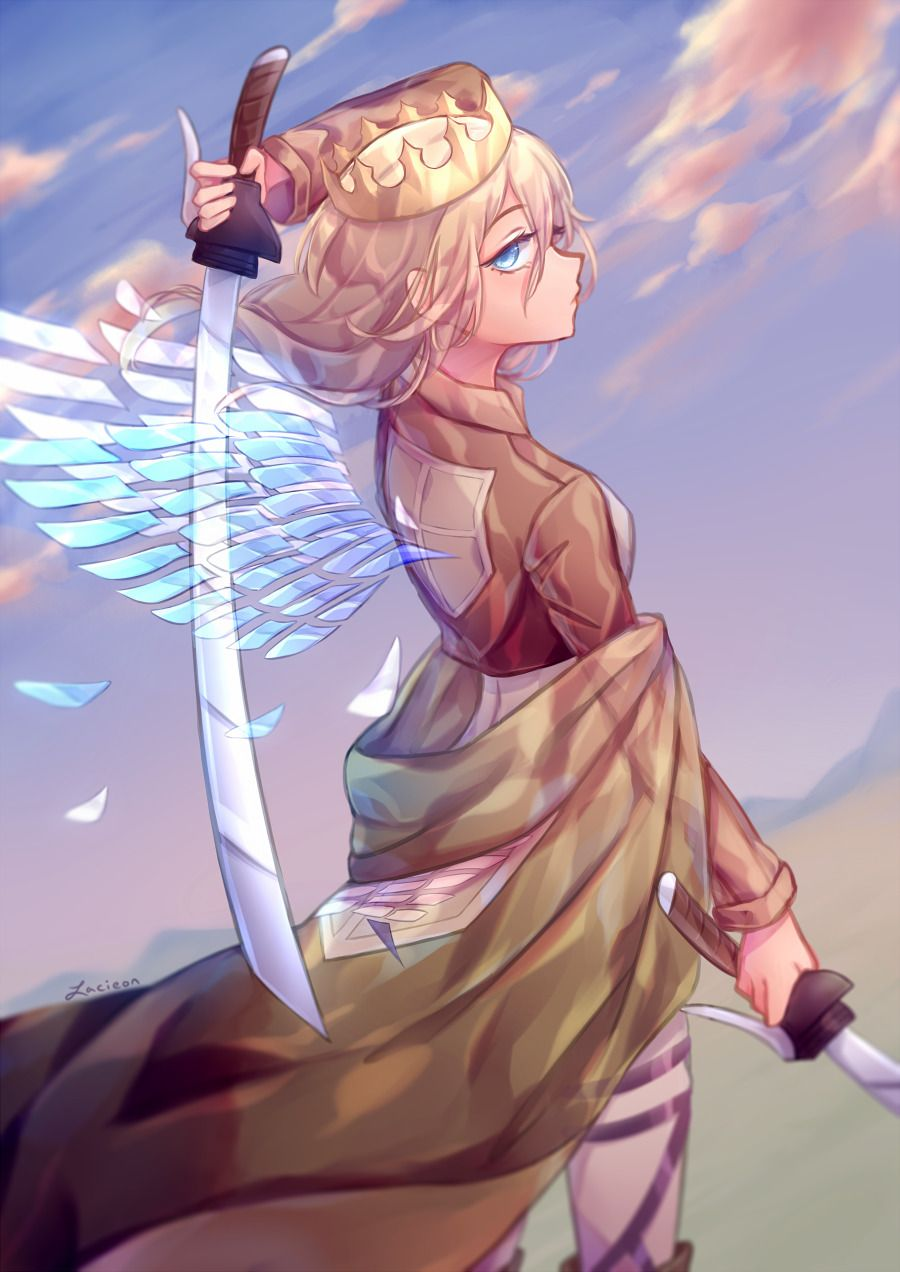 Queen S Wings By Lacieon Attack On Titan Anime Attack On Titan Attack On Titan Fanart