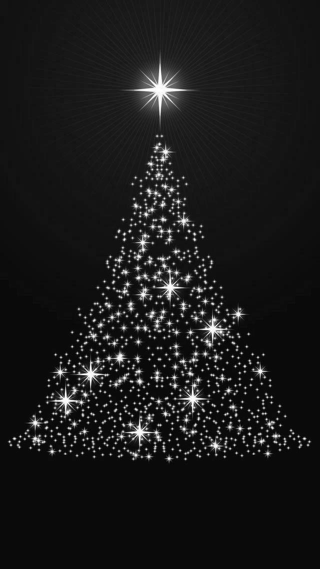 Tree Light Wallpaper Iphone Christmas Christmas Phone Wallpaper Christmas Tree Wallpaper