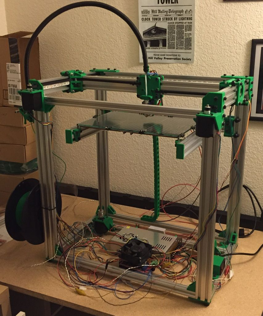D Bot Core Xy 3d Printer By Spauda01 Home Printers In 2018 Camt Launching Firstever For Printed Circuit Board