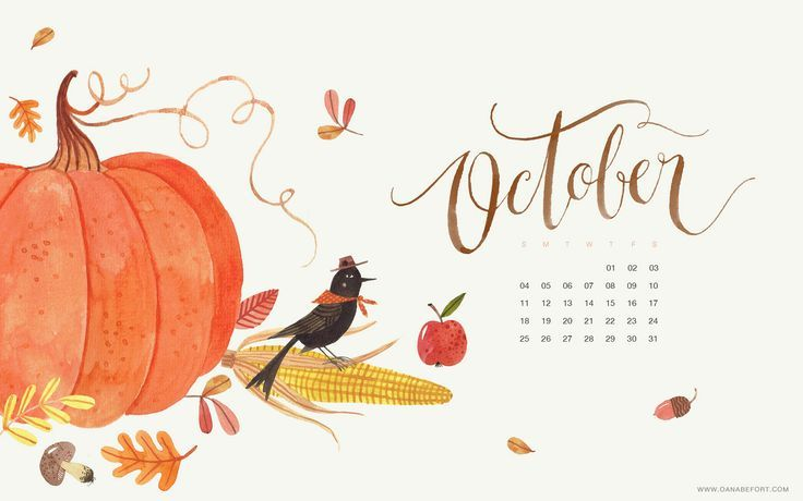 desktop - OCT 2015 en 2020 | Otoño, Calendario, Erge