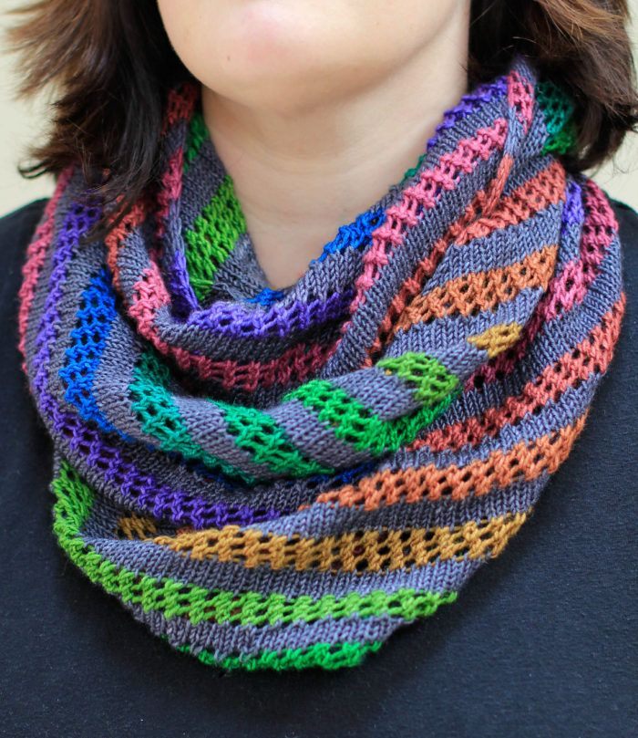 Free Knitting Pattern For Pipevine Cowl This Infinity Scarf
