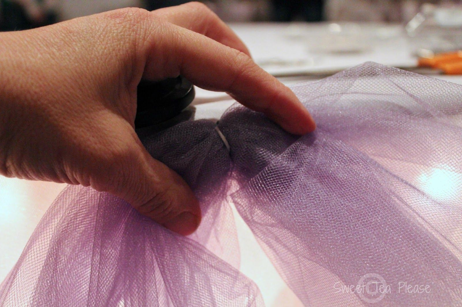 Uncategorized How To Decorate With Tulle decorating a cake table with lights and tulle tutorial tutorial