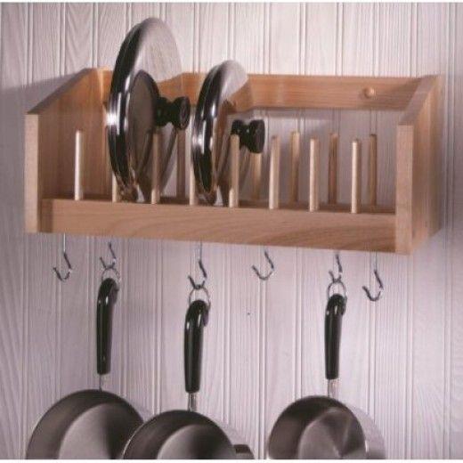 Kitchen Pot And Pan Rack Organize Your Kitchen Kitchen Wall