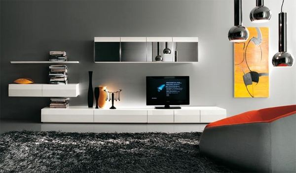 طاولات تلفزيون مودرن Modern Tv Wall Units Modern Tv Wall Tv Wall Unit