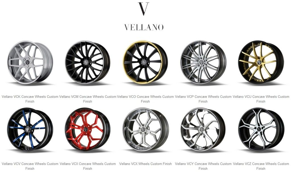 Vellano Wheels in Houston, TX Rim repair, Custom wheels