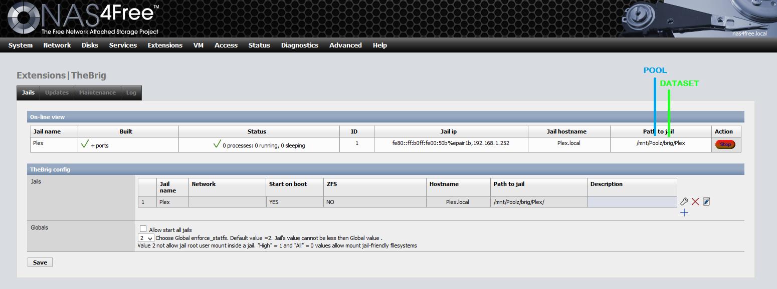 How to install Plex on NAS4Free | Everything NAS | Desktop