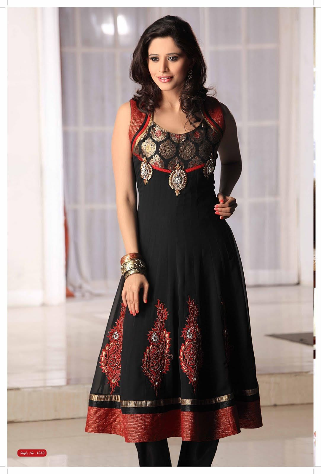 c3ed16f776 Salwar Kameez is basically an Indian ethnic wear. The dress is mainly meant  for the women to wear. The existence of the Salwar Kameez can be traced  back ...