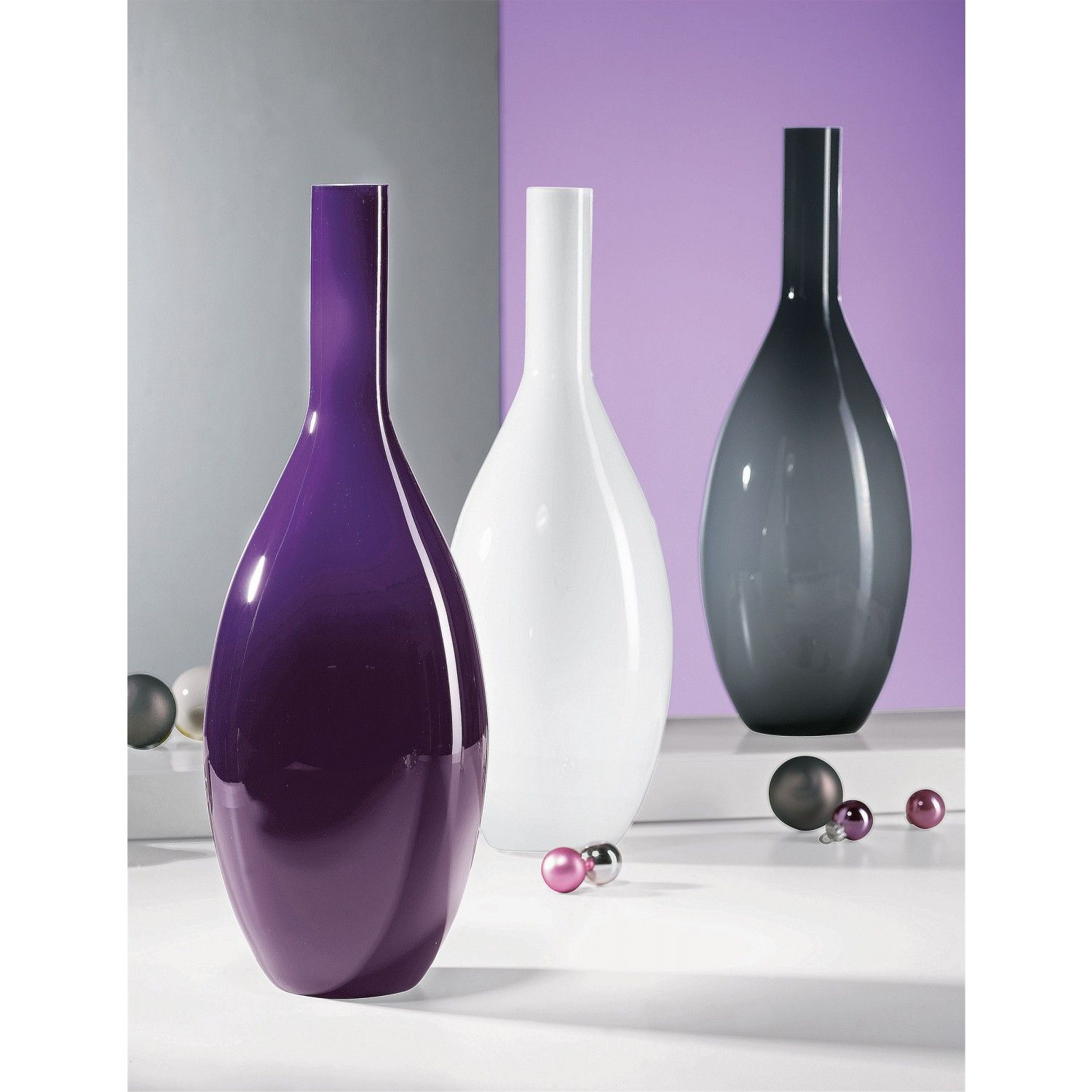 Leonardo Vase Leonardo Beauty Vase Violet Purple Leonardo In 2019